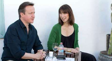 David Cameron and his holidays in Lanzarote