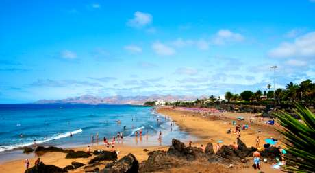 Yellow and Orange Weather Warning In Canary Islands
