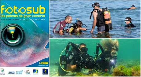 The 9th Underwater Fotosub Competition in Las Palmas