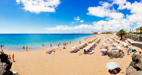 Playa Grande Beach Lanzarote Awarded The Ecoplaya Flag